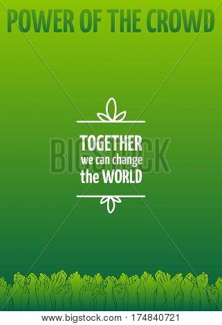 Ecoactivism And Environmentalism Design Element