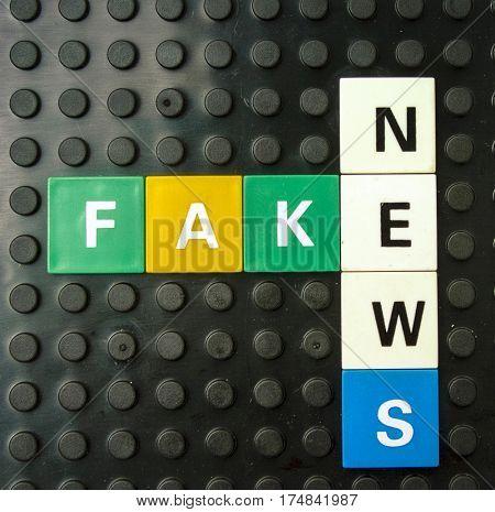 Facke news concept