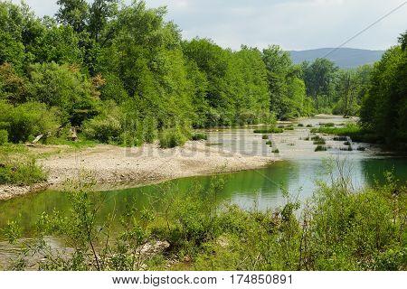 Abin is a small river in the Krasnodar region of Russia right tributary Adaguma (the basin of the Kuban river) - near the village of shapsugskaya in Abinsky district