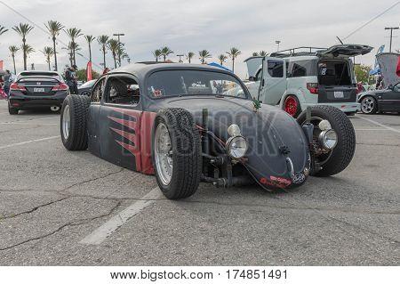 Rat Rod Beetle On Display