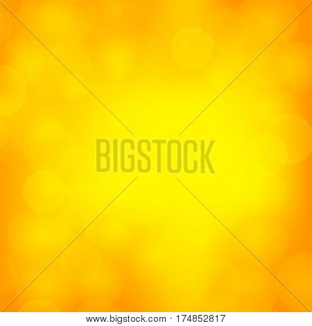 Abstract Sun Background. Yellow Summer Pattern. Bright Texture with Sunshine. Hot Sunburst with Flare and Lens.