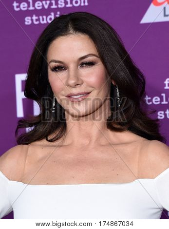 LOS ANGELES - MAR 01:  Catherine Zeta-Jones arrives for the