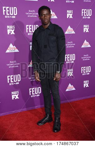 LOS ANGELES - MAR 01:  Damson Idris arrives for the