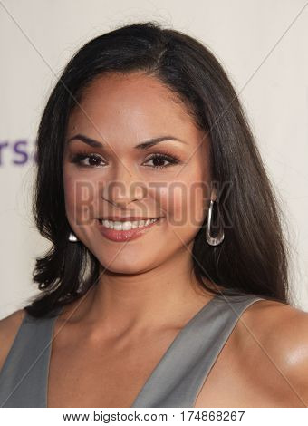 LOS ANGELES - AUG 02:  Karen Olivo arrives for the Summer 2011 TCA Party-NBC on August 1, 2011 in Beverly Hills, CA