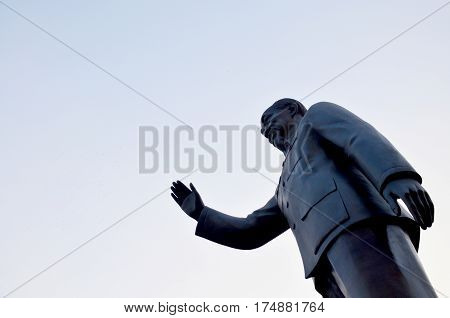 President Of The Democratic Republic Of Vietnam Statue