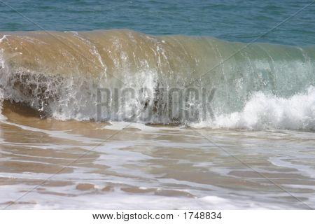 Rolling Wave Breaking