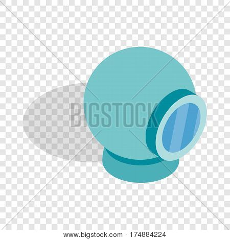 Webcam isometric icon 3d on a transparent background vector illustration