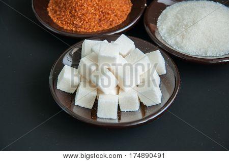 Variety Of Sugar.
