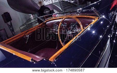 Dark 1939 Bugatti Type 57C By Vanvooren