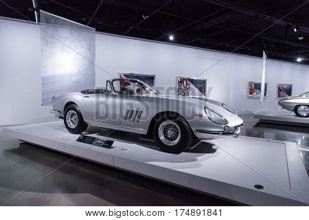 Silver 1967 Ferrari 275 Gtb Spyder