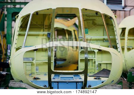 Making of russian helicopters on the aircraft factory