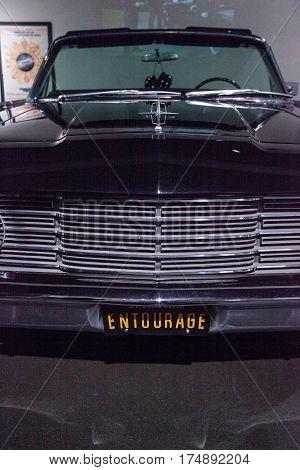 Black 1965 Lincoln Continental