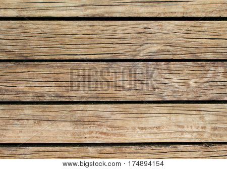 Bright wood background. Natural wood texture with horizontal lines. Wooden background for banner. Timber texture closeup. Horizontal wooden planks of floor backdrop photo. Natural material for banner