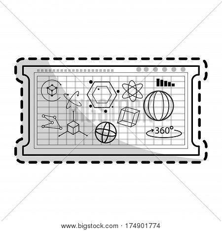 mathematical calculations icon image vector illustration design