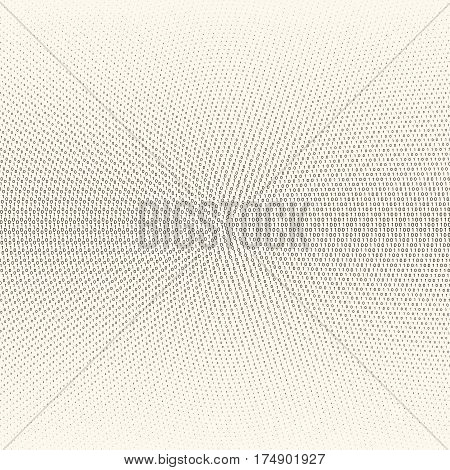 Vector abstract background with numbers one and zero on a white background. Suitable for web backgrounds wallpaper and presentations.