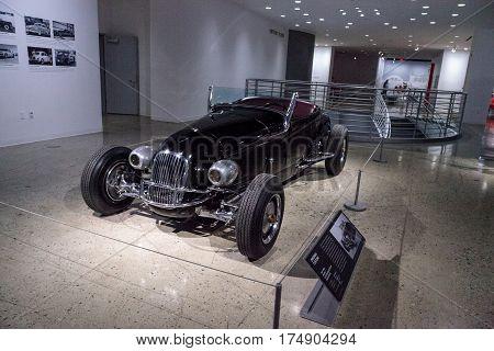 Black 1927 Ford Model T Custom Roadster