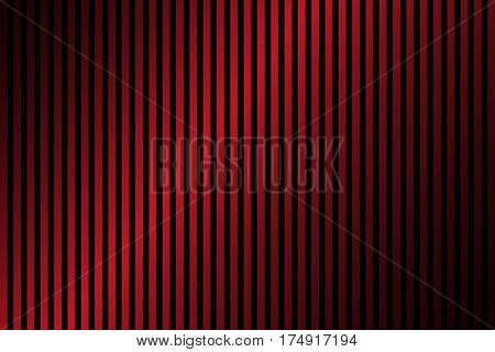 Red and black lines abstract background with dark gradient simple vector illustration