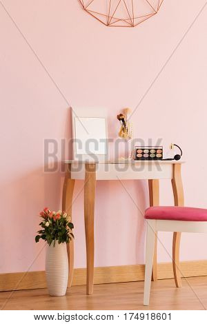 Woman Room With Dressing Table