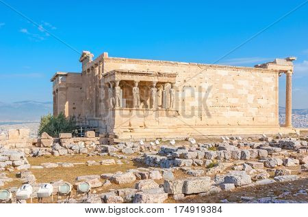 The Ruins Of Erechtheion
