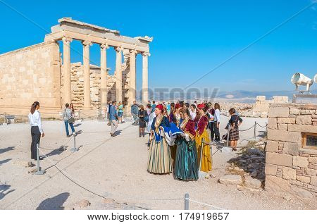 The Traditional Greek Costumes