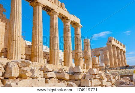 Ruins Of Parthenon