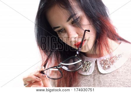 The Girl With Poor Eyesight,