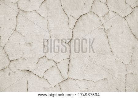 weathered wall with cracked paint abstract cracks background