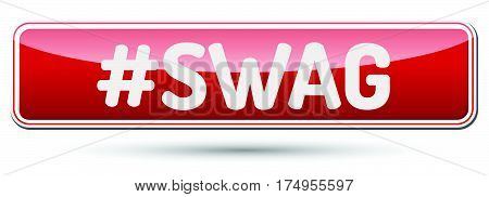 Swag - Abstract Beautiful Button With Text.