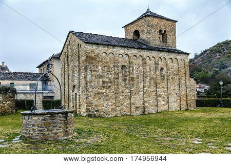 Church of San Caprasio in Santa Cruz de la Seros Huesca Aragon Spain