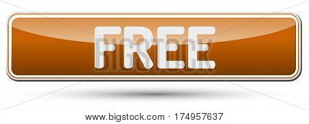 Free - Abstract Beautiful Button With Text.