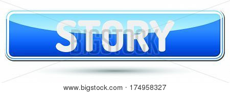 Story - Abstract Beautiful Button With Text.