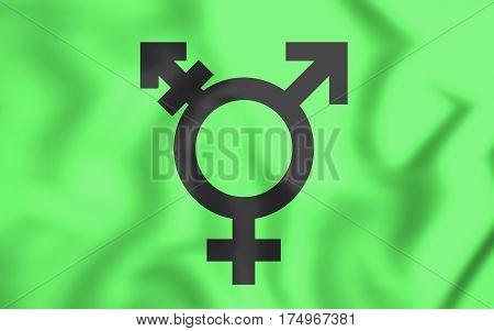 Israeli Transgender Flag.