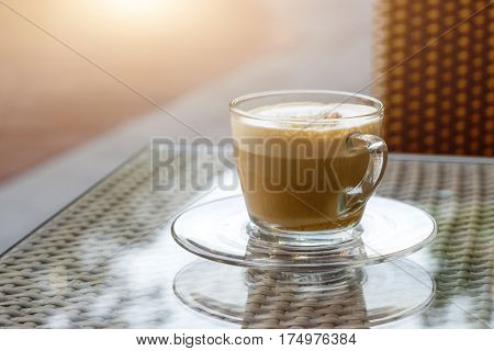 Coffee Cup In Morning