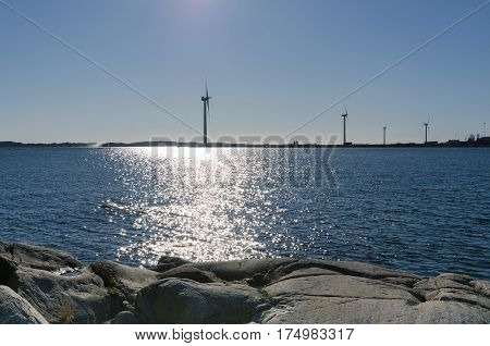 outside Gothenburgs harbour on the swedish west-coast the place is Arendahl