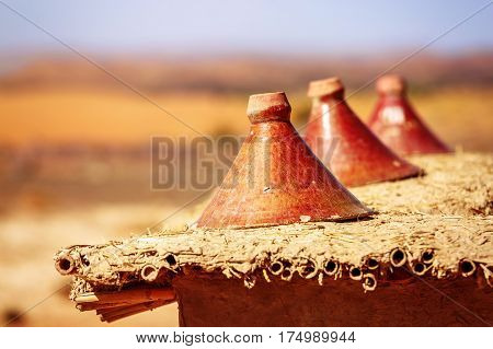 Production Of Traditional Moroccan Tajine Pots Used For Cooking