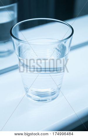 Glass Of Water, Vertical Photo