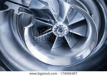 Turbocharger Structure Illustration