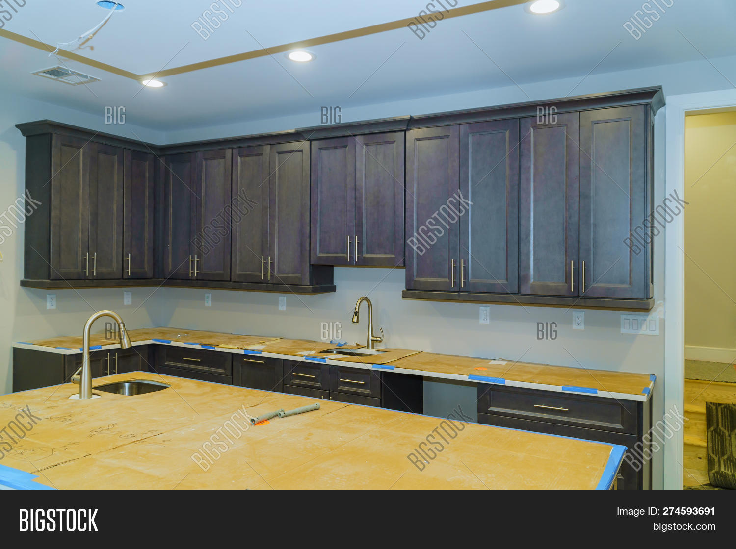 Kitchen Cabinets Image & Photo (Free Trial) | Bigstock