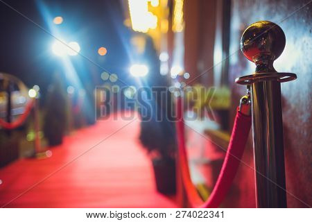 Red Carpet -  Is Traditionally Used To Mark The Route Taken By Heads Of State On Ceremonial And Form