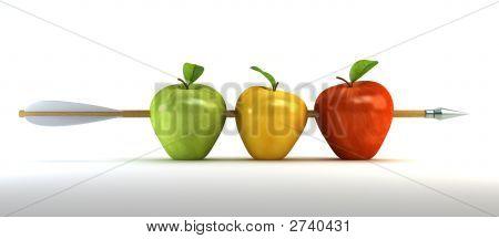 镂空的苹果