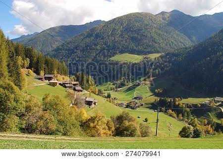 Ultental Valley  (german: Ultental Or Ulten, Italian: Val D'ultimo), South Tyrol, Italy