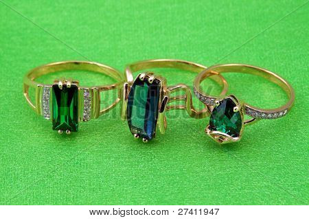 Elegant Emerald  Jewelry