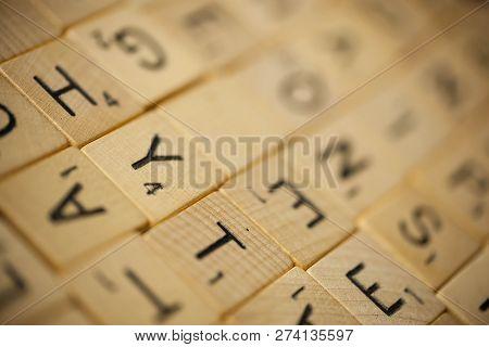 Scrabble Tile Background