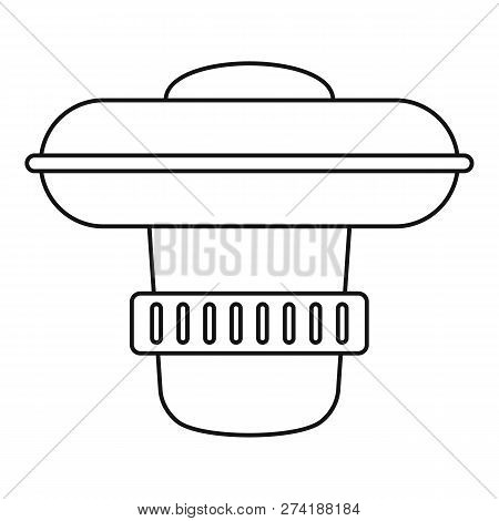 Dosing Pool Device Icon. Outline Dosing Pool Device Vector Icon For Web Design Isolated On White Bac