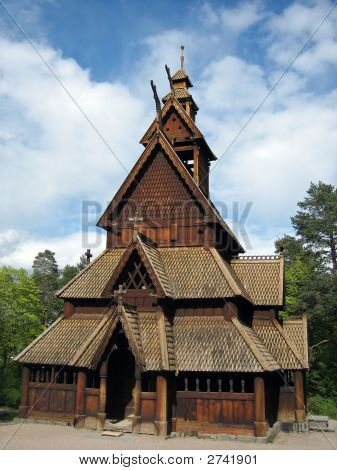 Old Norwegian Stave Church
