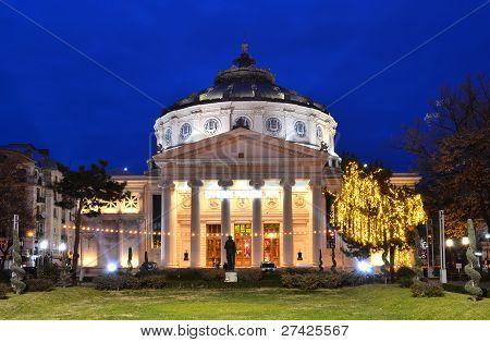 Romanian Atheneum, Bucharest, Romania