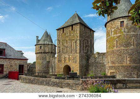 Fougeres Castle In Bretagne