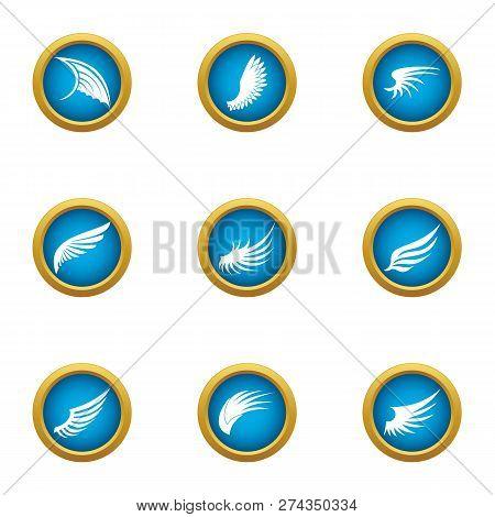 Mudguard Icons Set. Flat Set Of 9 Mudguard Icons For Web Isolated On White Background