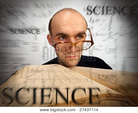 Pensive Scientific Mathematician