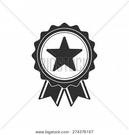 Monochrome Badge Vector Photo Free Trial Bigstock